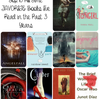 Top Ten ALL TIME FAVORITE Books From The Past 3 Years