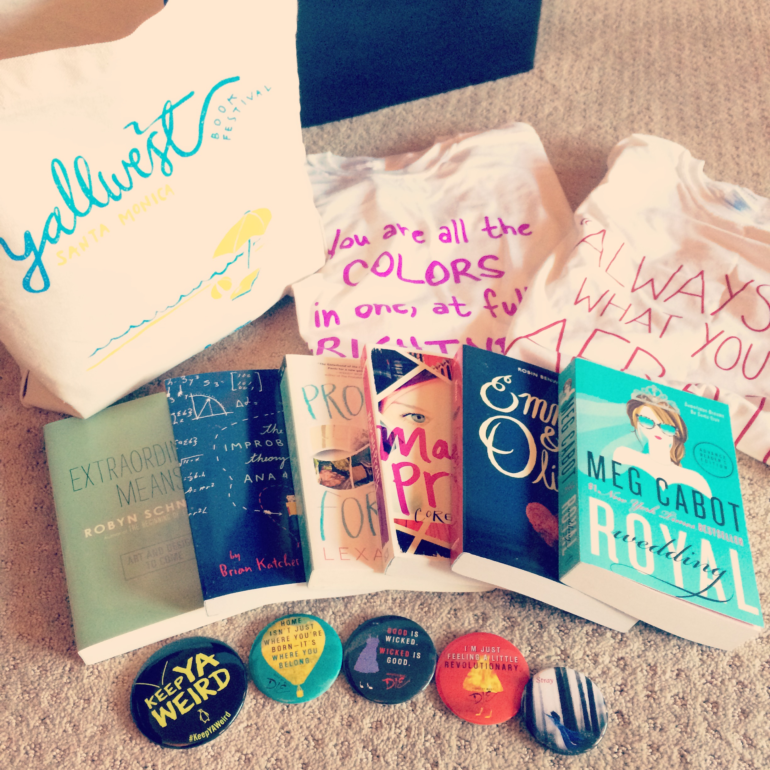 Some of our YALLWEST haul!