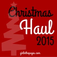 Christmas (Book) Haul and Recap 2015!