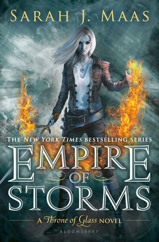 Empire of Storms (Throne of Glass, #5) by Sarah J. Maas