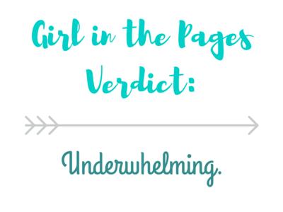 Verdict_ Underwhelming