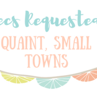 Recommendations Requested: Quaint, Small Towns