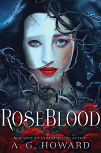Roseblood by A.G. Howard | In Which My Phantom Obsession is Rekindled