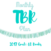 Monthly TBR Plan: October 2017