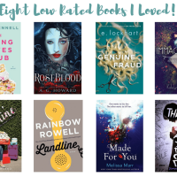 Eight Low Rated Books That I Loved