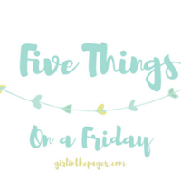 Five Things on a Friday