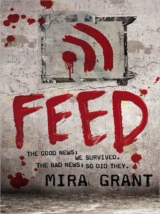Feed (Newsflesh Trilogy #1) by Mira Grant, Jesse Bernstein, Paula Christensen
