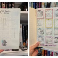 Exploring the World of Bullet Journaling: 2020 Reading Bujo [2]